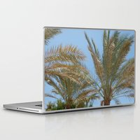 palm trees Laptop & iPad Skins featuring Palm Trees by MehrFarbeimLeben