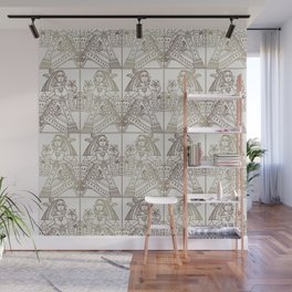 Ladies Only - Mid Century Modern Neutrals Wall Mural