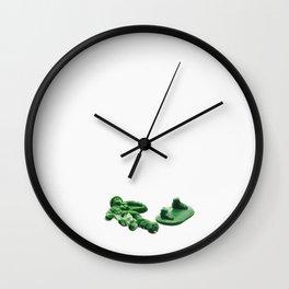 Broken Army Man Wall Clock