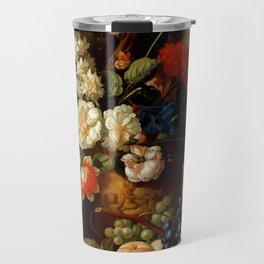 "Jan van Os ""Flowers"" Travel Mug"