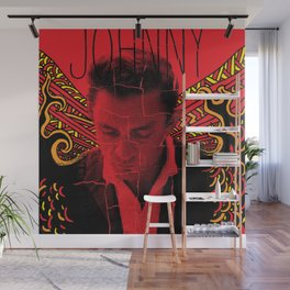 Wings of Fire Johnny Cash Wall Mural