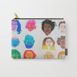 Strangers Blinking Carry-All Pouch