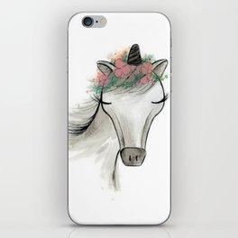 Zoey the Unicorn iPhone Skin