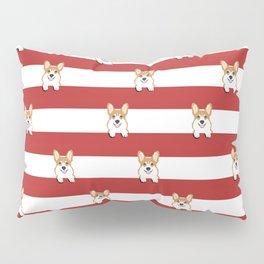 Corgi Stripes Corgi Dog design Cute Corgi Pet Gifts Pillow Sham