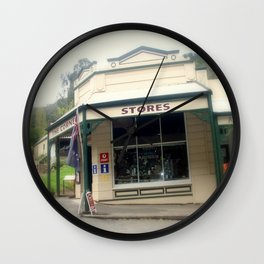 Walhalla - The Corner Stores Wall Clock