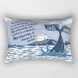 Faro de Islas Hormigas Rectangular Pillow