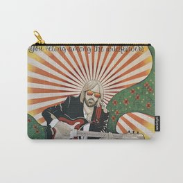 Wildflowers (Tom Petty Tribute Mural, Gainesville) // Music Rock and Roll Guitar Legendary Hall Fame Carry-All Pouch