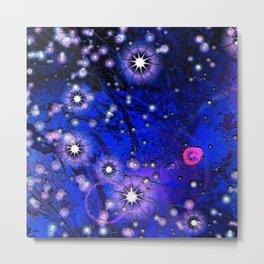 Novas Ultramarine Blue Metal Print