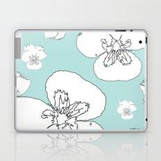 Green Pansies Laptop & iPad Skin