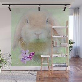 Tiny Bunny Wall Mural
