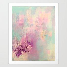 Serene Nebula Art Print