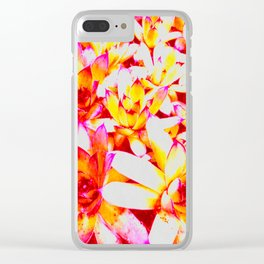 Sweet Succulents of the PNW Clear iPhone Case