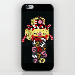 How much Time do we have left (CLOCK) iPhone Skin