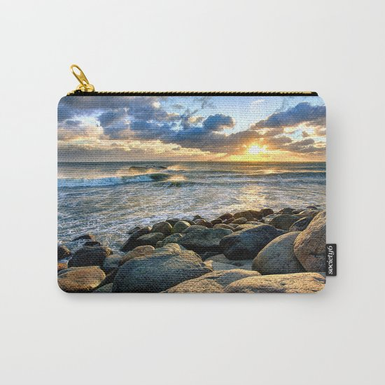 Sea Rocks Carry-All Pouch