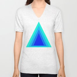 Homage to the Triangle Unisex V-Neck
