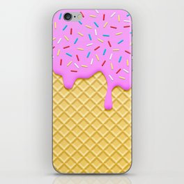 Strawberry Ice Cream iPhone Skin