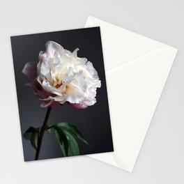 Soft pink peony Stationery Cards