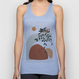 Soft Shapes I Unisex Tank Top