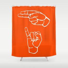 Bang bang, howdy partner! Shower Curtain