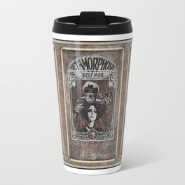 Metamorphosis by The Wolf Man: A Full Service Hair Salon (Aged Postcard) Travel Mug