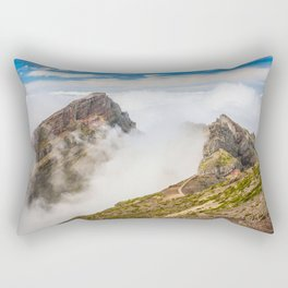 Mountains on Madeira Rectangular Pillow