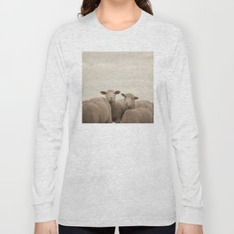 Smiling Sheep  Long Sleeve T-shirt