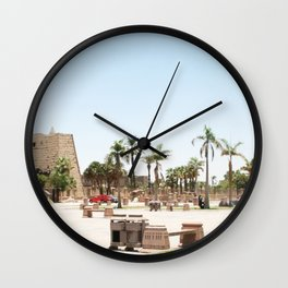Temple of Luxor, no. 24 Wall Clock