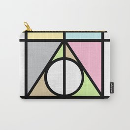 Geometric Deathly Hallow Carry-All Pouch