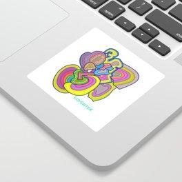 """LUVGHTER - """"Splendid"""" Sticker"""