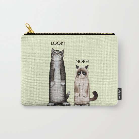 Look!-Nope Carry-All Pouch