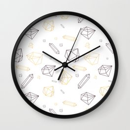 Crystall powe Wall Clock