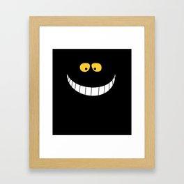 Smile from Wonderland Framed Art Print