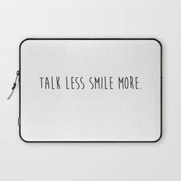 "Arron Burr- ""Talk less Smile more."" Laptop Sleeve"