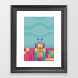 It's a small world after all   Disney inspired Framed Art Print