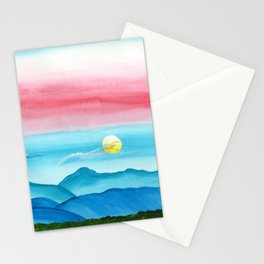 Autumn Moon Festival Stationery Cards
