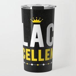 Black Excellence Travel Mug