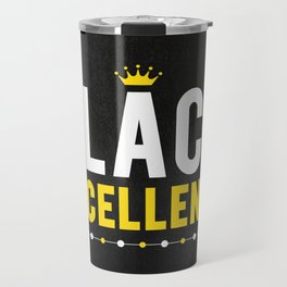 Black Excellence Travel Mug