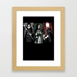 Souls Waifus Framed Art Print