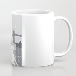 Cityscape Deer Coffee Mug