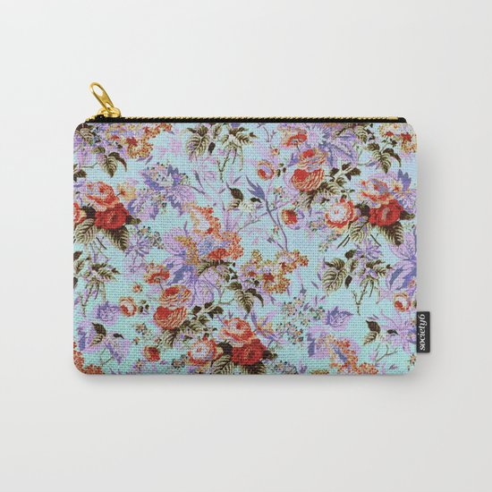 fleuri Carry-All Pouch