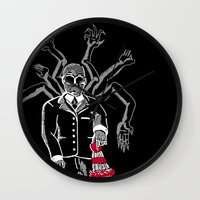 waldo Wall Clocks featuring WHERE IS WALDO! by ANZAVACK - THE EMPEROR OF EXTRAVAGANCE