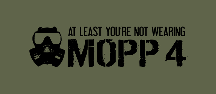 At Least You're Not In MOPP 4 Coffee Mug