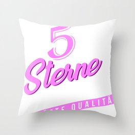 5 star diver quality Throw Pillow