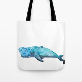Atlas The Whale Tote Bag