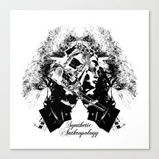 Synthetic Anthropology Canvas Print