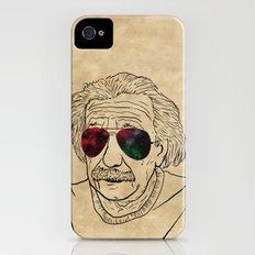 Albert wears his sunglasses at night iPhone (4, 4s) Slim Case