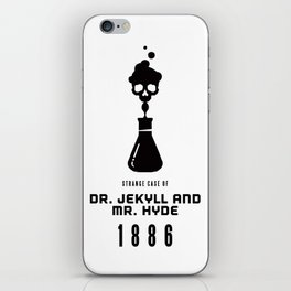 A Century of Horror Classics :: Strange Case of Dr. Jekyll & Mr. Hyde iPhone Skin