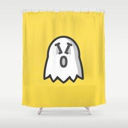 Ghosty10 Shower Curtain