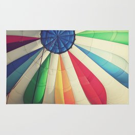 Rainbow Balloon Rug