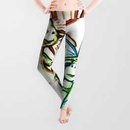 """Moms Know Best"" Flowerkid Leggings"